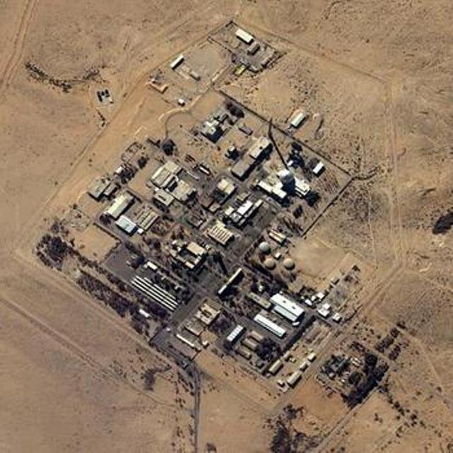 Israeli nuclear and chemical weapons manufacturing facility at Dimona (image by sodahead.com)