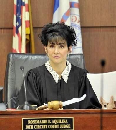 Thirtieth Circuit Court Judge Rosemarie Aquilina.