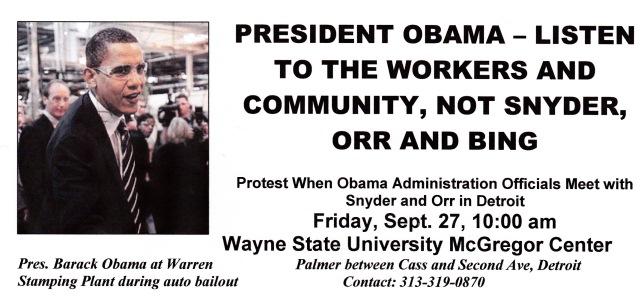 Obama demo