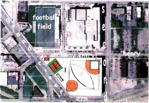 Proposed Cass HS baseball fields