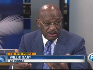 Attorney WIllie Gary, who represents Dr. Shifing Bao