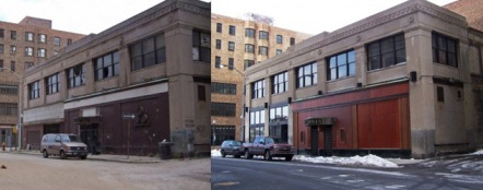Cliff Bell's before and after renovation.