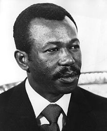 Mengistu Haile Mariam, President of People's Democratic Republic of Ethiopia from 1987-91, driven out of power by U.S. and Somalia.