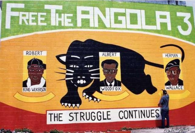 Angola 3 mural