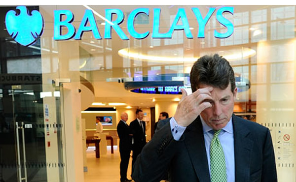 Barclay's CEO Bob Diamond was forced to step down in wake of LIBOR scandal.
