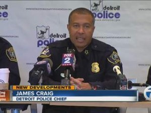 Detroit Police Chief Craig announces executive staff.