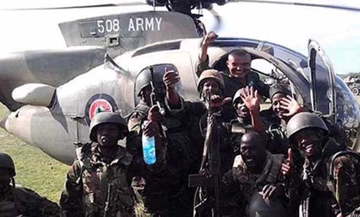 """Kenya Defense Forces"" have occupied southern Somalia."
