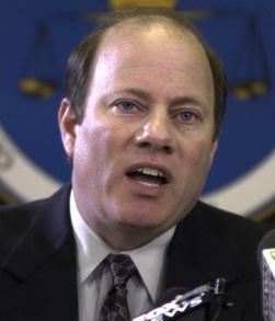 Mike Duggan as Wayne County Prosecutor in 2002.