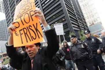 One of many NYC protests that led to judgment against Stop and Frisk.