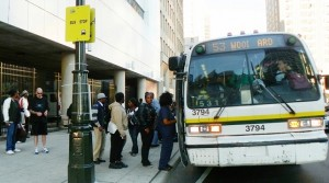 Long lines, packed buses hurt both drivers and riders.