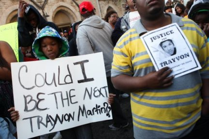 "Protest against murder of Trayvon Martin. Now young Detroiters must wonder ""Could I be the next Renisha McBride?"""