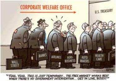 Corporate welfare office