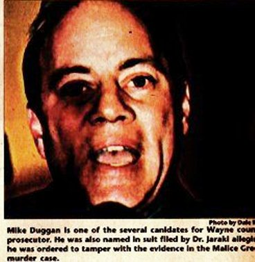Soon to be Mayor Mike Duggan, in 2000 photo taken by Dale Rich for the Michigan Citizen.