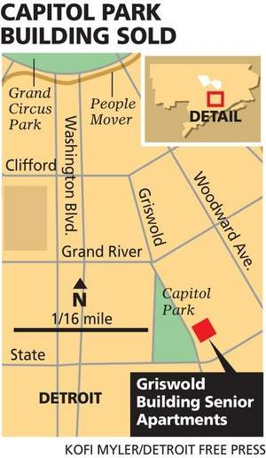 Griswold apartments map