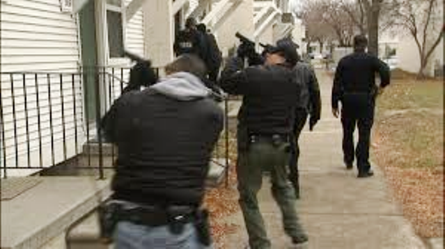 Multi-agency task force raided MLK Apartments earlier this month, also home to some of the city's poorest residents.