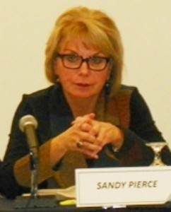 Sandra Pierce chairs Financial Advisory Board meeting Nov. 12, 2012.