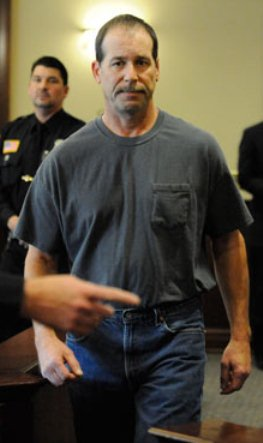 Theodore Paul Wafer at arraignment.