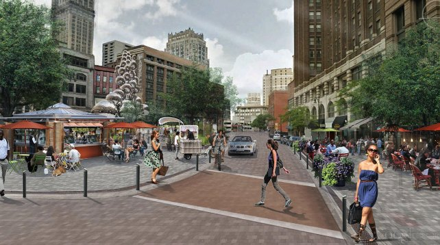 Dan Gilbert's vision for Capitol Park, where Griswold Apartments are located.