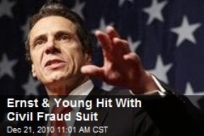 Detroit bankruptcy advisor Ernst & Young, bookkeeper for Lehman Brothers, was sued in their collapse for cooking their books. The collapse  triggered the 2008 economic crach