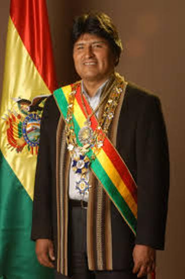 Evo Morales, President of Bolivia