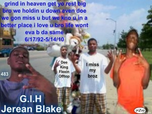 Photo from Facebook page for Je'Rean Blake