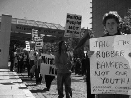 Moratorium NOW! protests banks bail-out in Washington, D.C.