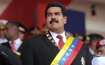 Nicolas Maduro, President of Venezuela in the tradition of his deceased predecessor Hugo Chavez.
