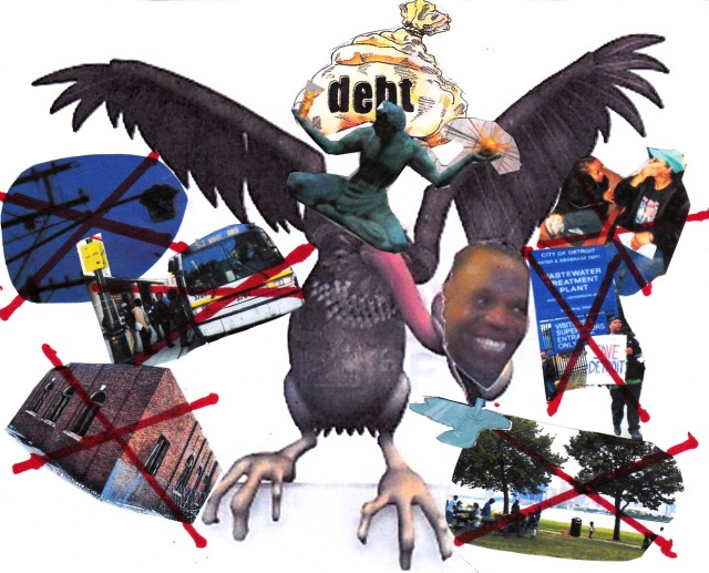 Detroit EM Kevyn Orr, Jones Day, global banks conspire to dismantle nation's largest Black majority city while profiting from billions in debt.
