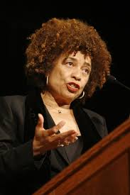 Renowned leader Angela Davis as she is today. Such hairstyles are celebrated in Black culture.