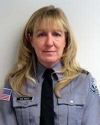 Former prison warden Donna Houtz.