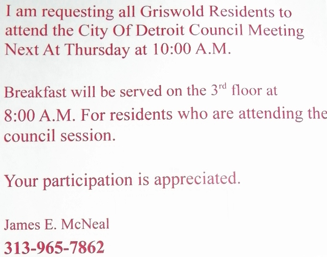 Griswold notice