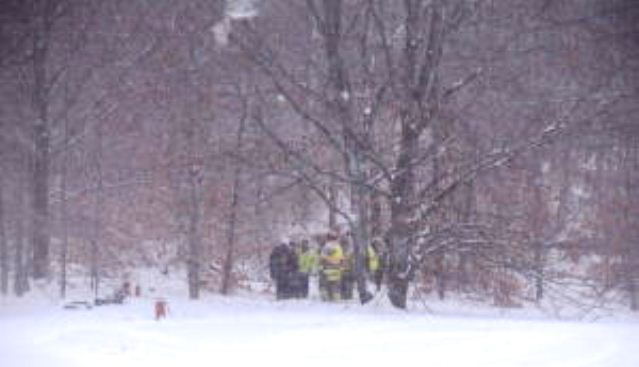 Photo of plane crash involved from another newspaper; apparently Charlevoix County News dumped story and photographer, a hazard in the free-lance journalism business.