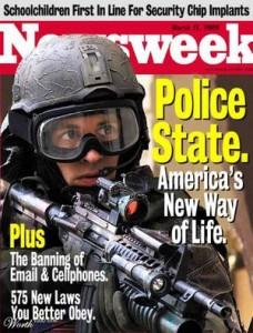 Police state Newsweek