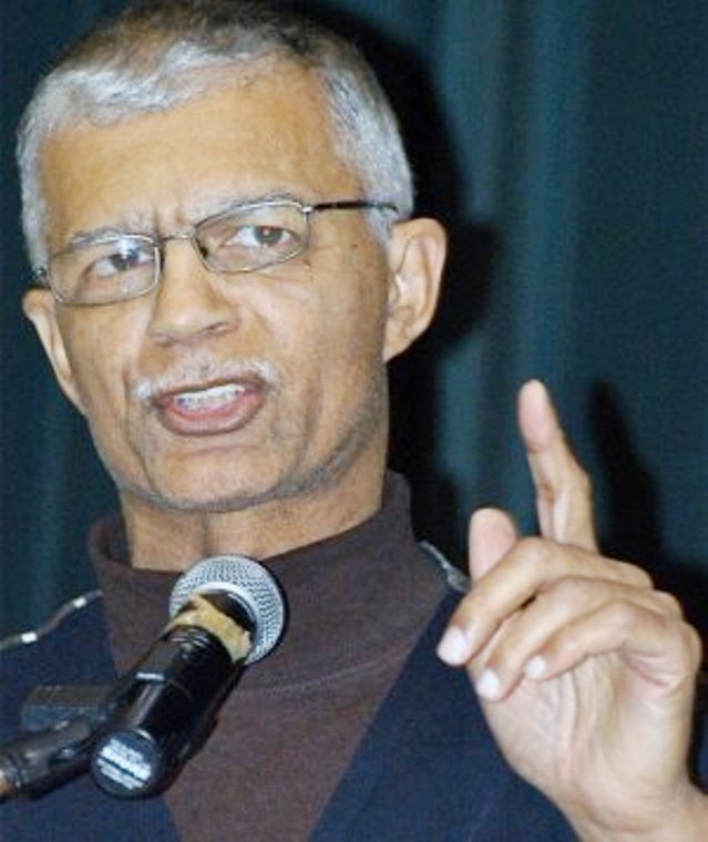 Chokwe Lumumba, Mayor of Jackson, MS. and long-time revolutionary attorney from Detroit.