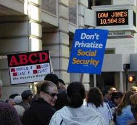 Dont privatize social security