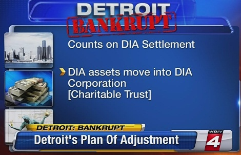 How can Detroit be bankrupt while it owns billions of dollars worth of art at the DIA?