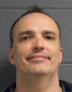 Jay Schlenkerman prison photo after latest incarceration in Kinross Correctional Facility.