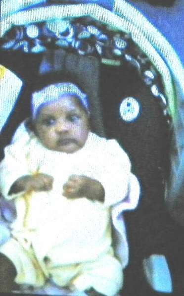 Atjamino Simmons, taken from her grandmother at two months old.