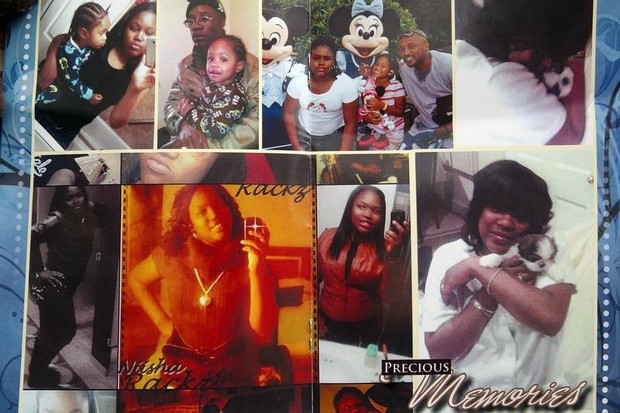 Photos from Renisha McBride funeral program differ strongly from defense depiction of her.