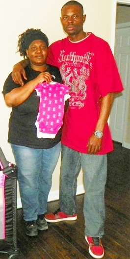 Parents Tamikia McGruder and Arthur Simmons, Jr.