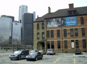 UDM School of Law downtown Detroit campus.