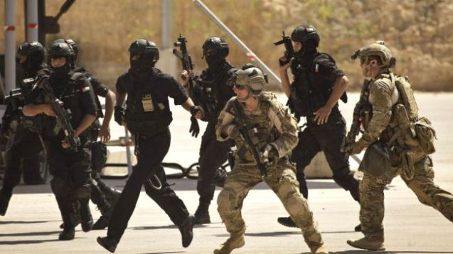 US special ops troops in Iraq.