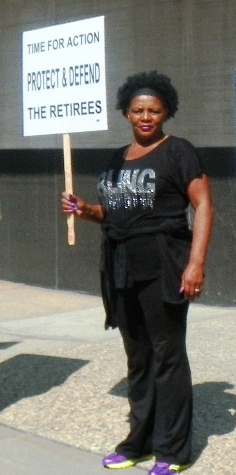 Virginia Williams, UAW retiree