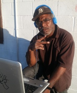 DJ Hydef, a/k/a Clyde Moore Photo: Cornell Squires
