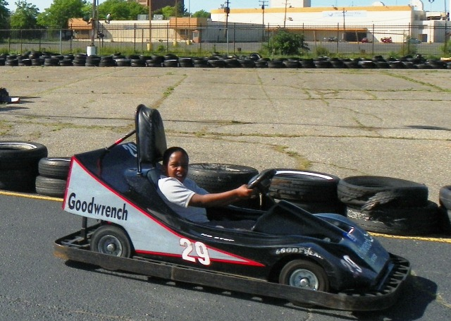 Gokart child good