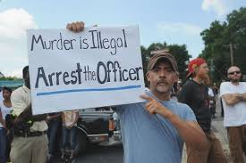 Ferguson Murder is Illegal Arrest the Officer
