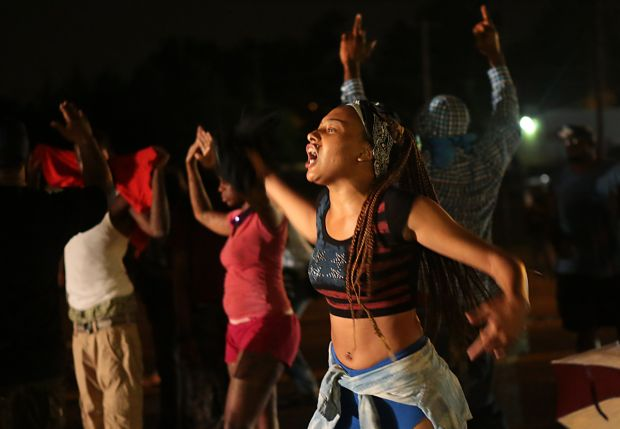 Protesters in Ferguson appear to be largely youth, mobilized into action by cold-blooded murder of Michael Brown.