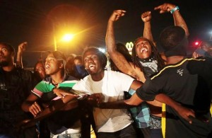Ferguson youth express outrage Aug.15 at police murder of Michael Brown.