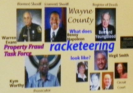 Ricobusters Wayne Co officials