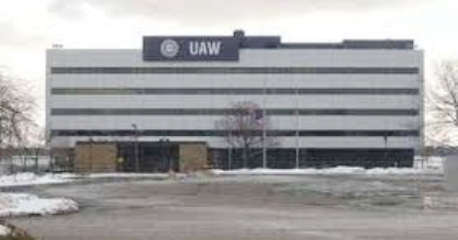 UAW International Headquarters in Detroit.